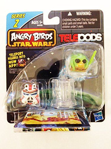 Angry Birds Star Wars Telepods Series 2 Kit Fisto Bird Shock