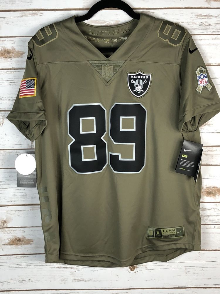 competitive price b5533 a84ee Nike Oakland Raiders Amari Cooper Salute To Service Women's ...