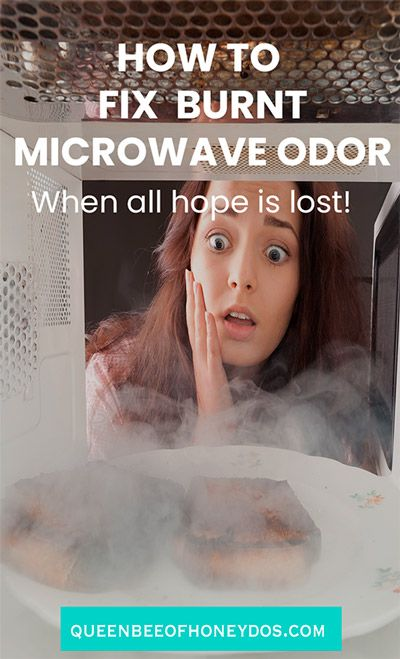 Remove Microwave Burnt Odor When All Seems Lost