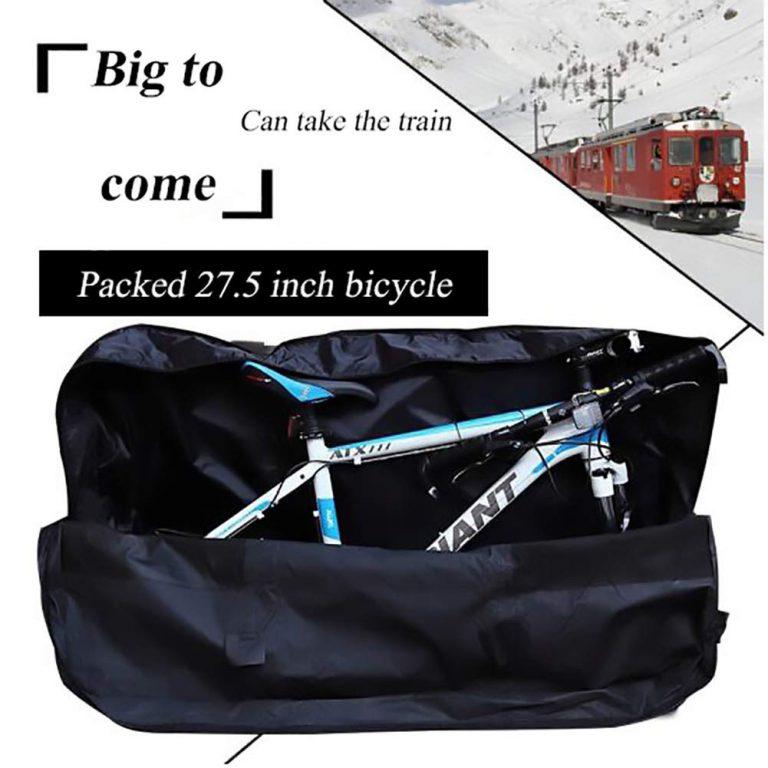 Top 10 Best Folding Bike Bags In 2020 Reviews Bike Travel Bag