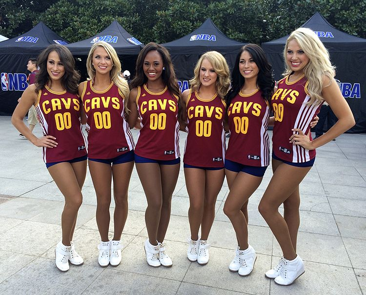 pretty nice 71587 6217d The Cavalier Girls recently took a trip to China as part of NBA Nation.  Check out Part II of their journey overseas.