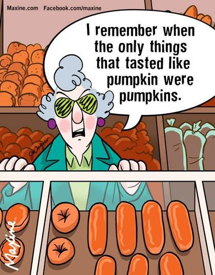 maxine funny pumpkin things fall humor remember sayings thanksgiving were jokes spice tasted pumpkins vaccine