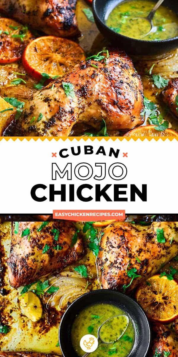 Cuban Mojo Chicken Recipe - Easy Chicken Recipes (