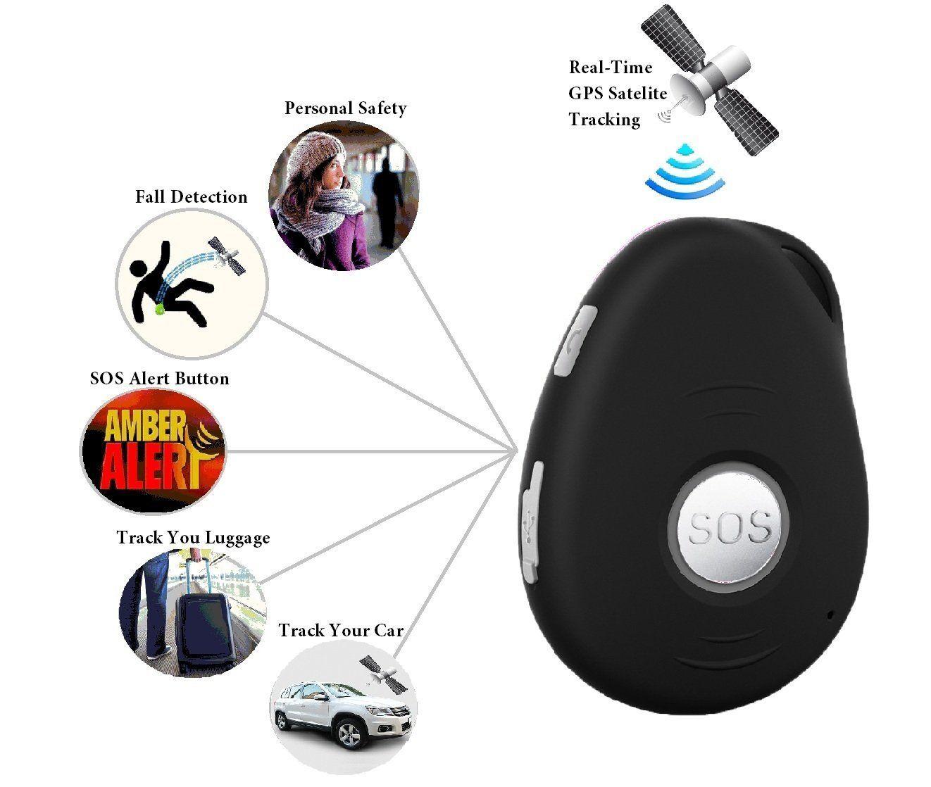 Amazon com: VisionOneGPS Personal GPS Tracker (T-Mobile 2G