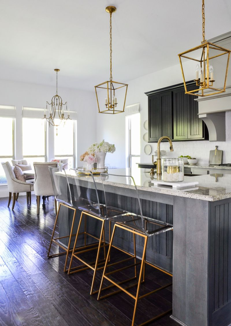 Kitchen Update With Gold Accents By Decor Gold Designs Home Decor Kitchen Updated Kitchen Breakfast Nook Decor