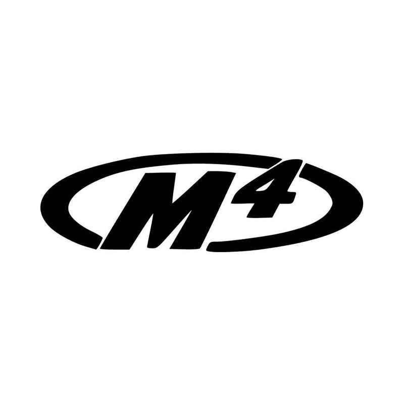 M exhaust aftermarket vinyl decal sticker