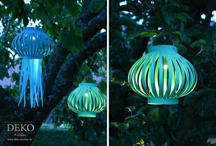 diy laternen lampions aus papier selber machen deko kitchen party ideas lampions deko. Black Bedroom Furniture Sets. Home Design Ideas