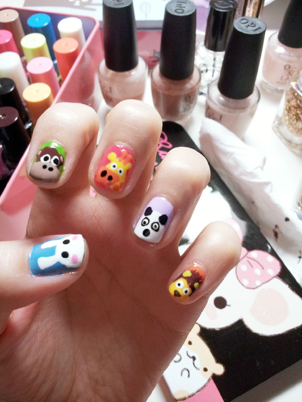 Kids Nails - http://nail-designs.com/varnish/kids-nails/ | Nail ...