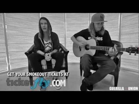 Smokeout Sessions - The Dirty Heads performing Lay Me Down acoustic - YouTube
