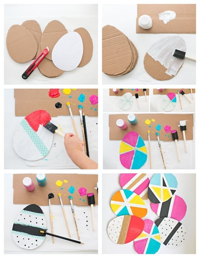 ▷ 1001 + super creative DIY Easter projects in kindergarten, # DIY # creative # ...