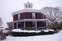 American Homes Syracuse Ny >> Octagon House Camillus Syracuse Area New York State