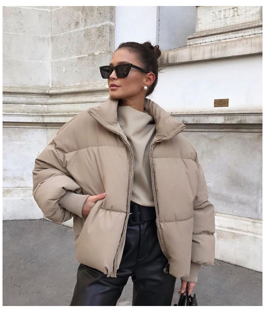 Puffer Jacket Beige Puffer Jacket Beigepufferjacket Zara Beige Puffer Jacket Via Majamarko7 Winter Fashion Outfits Fashion Inspo Outfits Beige Puffer [ 992 x 844 Pixel ]