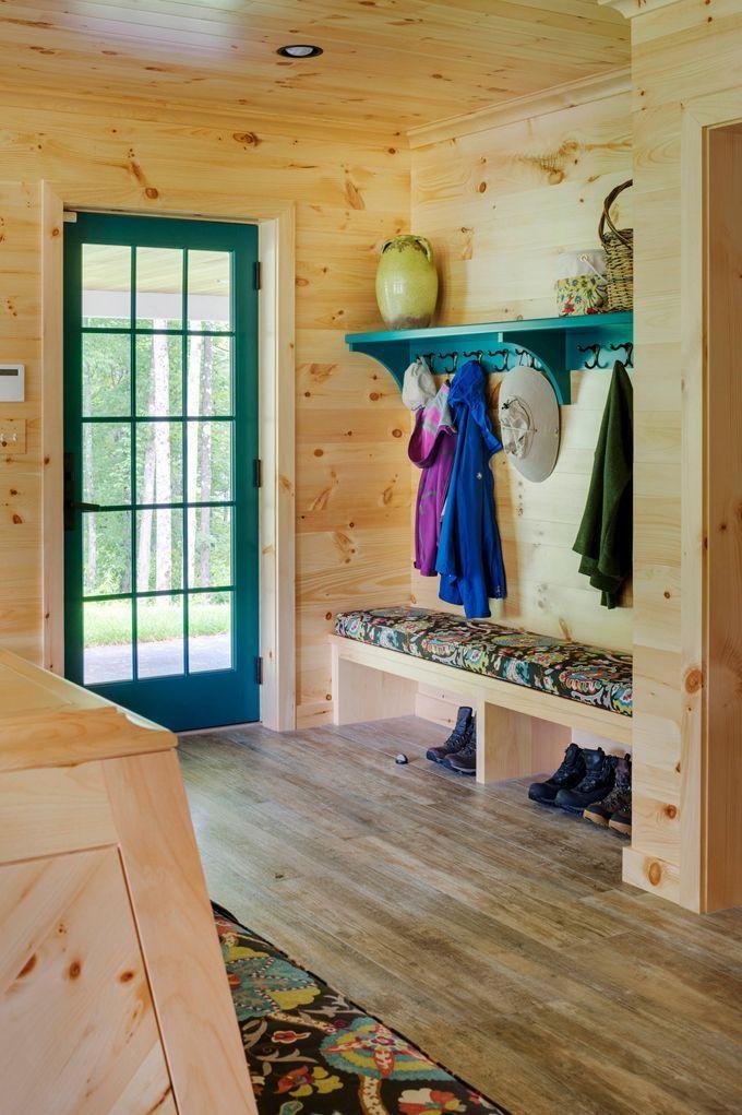 House rustic mudroom Woodmeister Master Builders