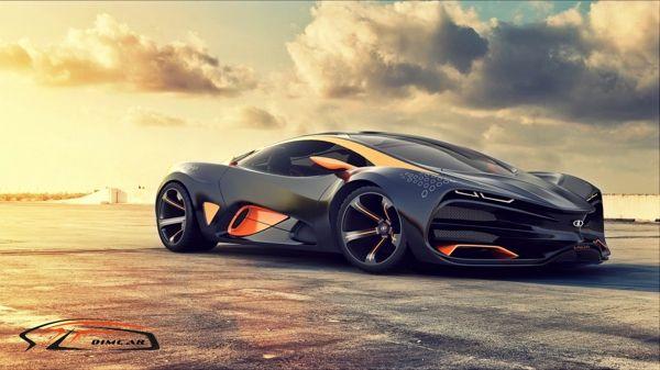 lada raven desing concept car on behance awesome shit cars rh pinterest co uk