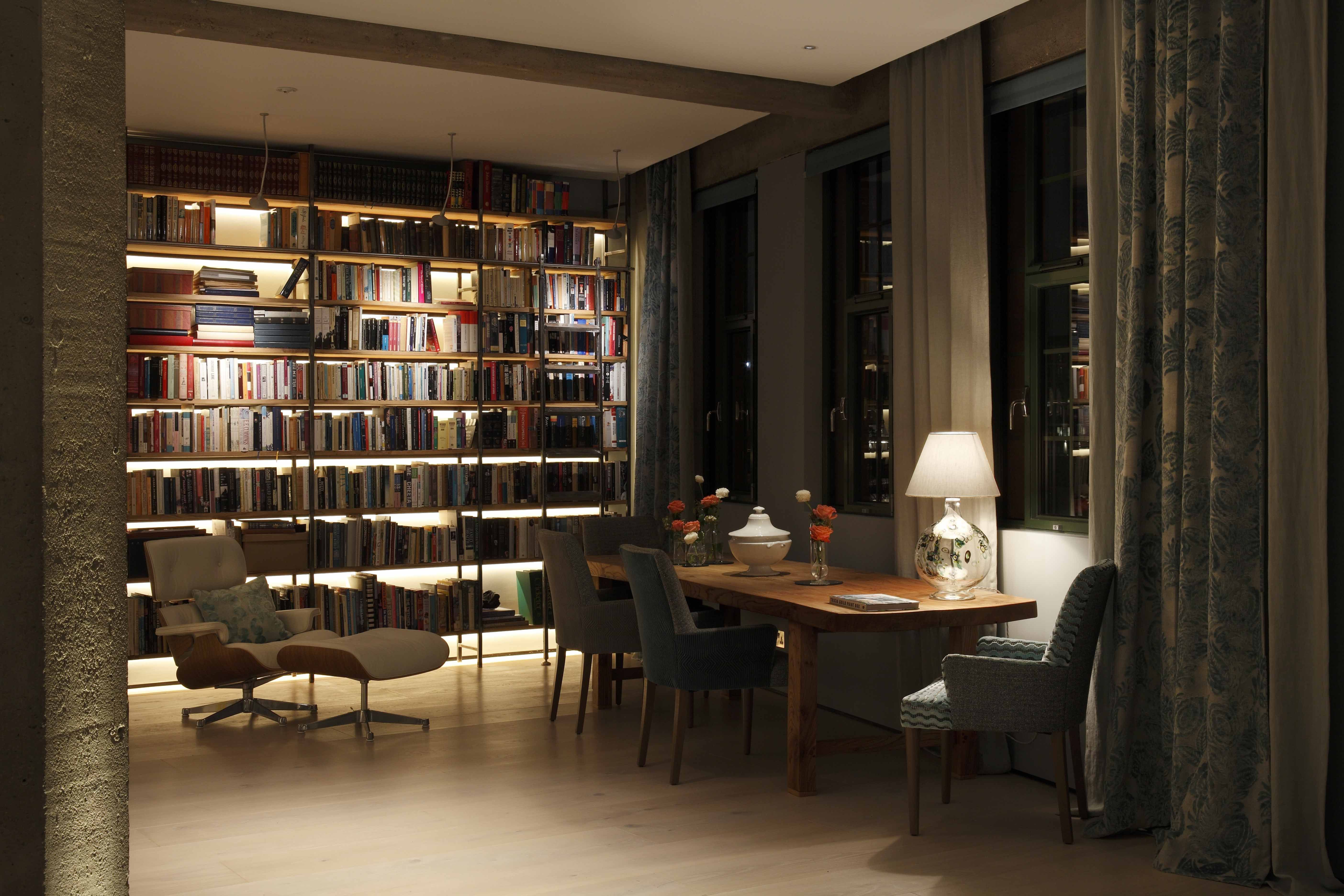 contemporary loft furniture. Contemporary Loft Living Library And Dining Furniture