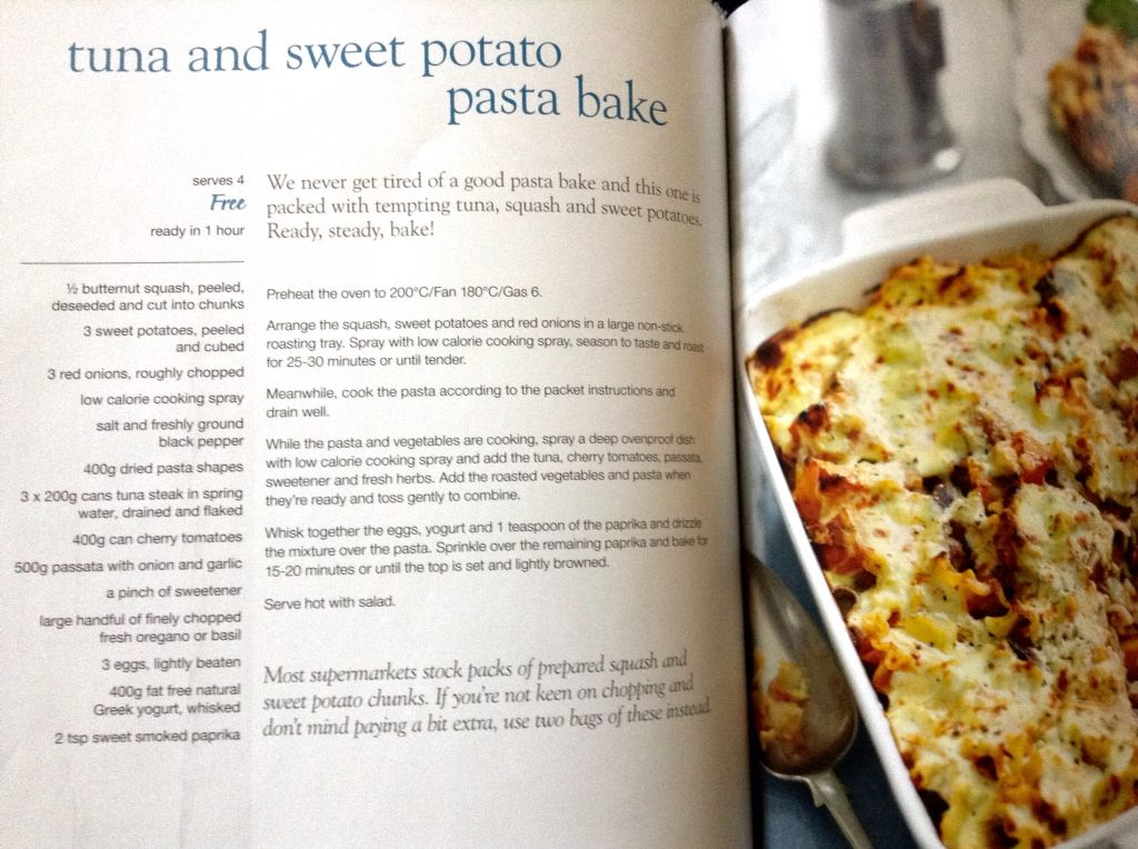 Slimming World Tuna Sweet Potato Pasta Bake In 2020 Food