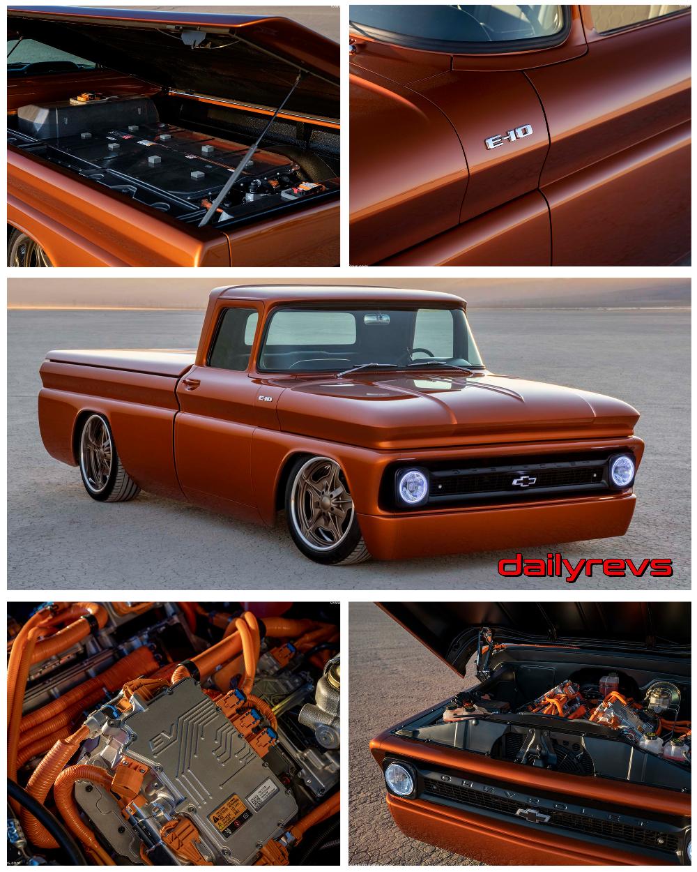 2020 Chevrolet E10 Concept Chevrolet, Crate motors