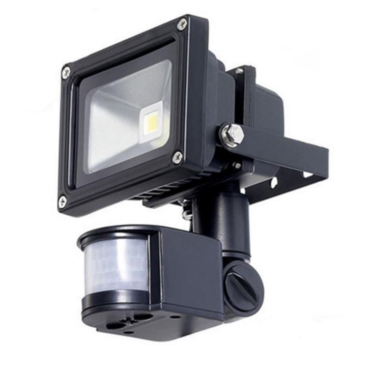 Outdoor Led Floodlight Security Light With Motion Sensor 40 Ft Detection Range Security Lights Motion Sensor Lights Outdoor Led Flood Lights