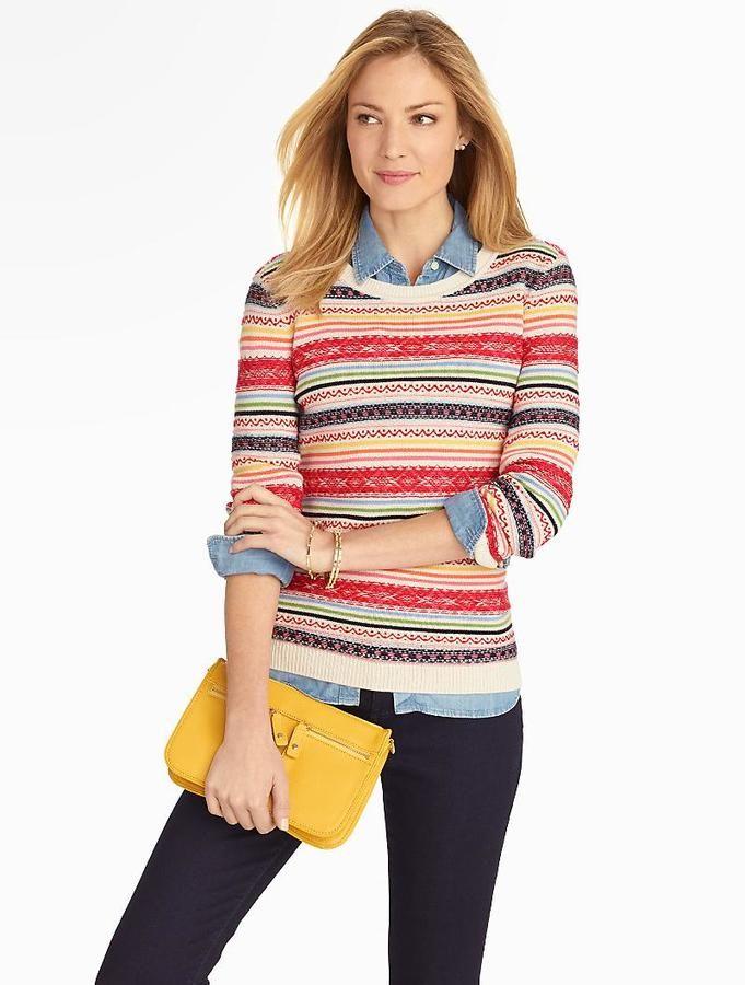 Breton Fair Isle Sweater   Needs + Wants   Pinterest   Fair isles ...