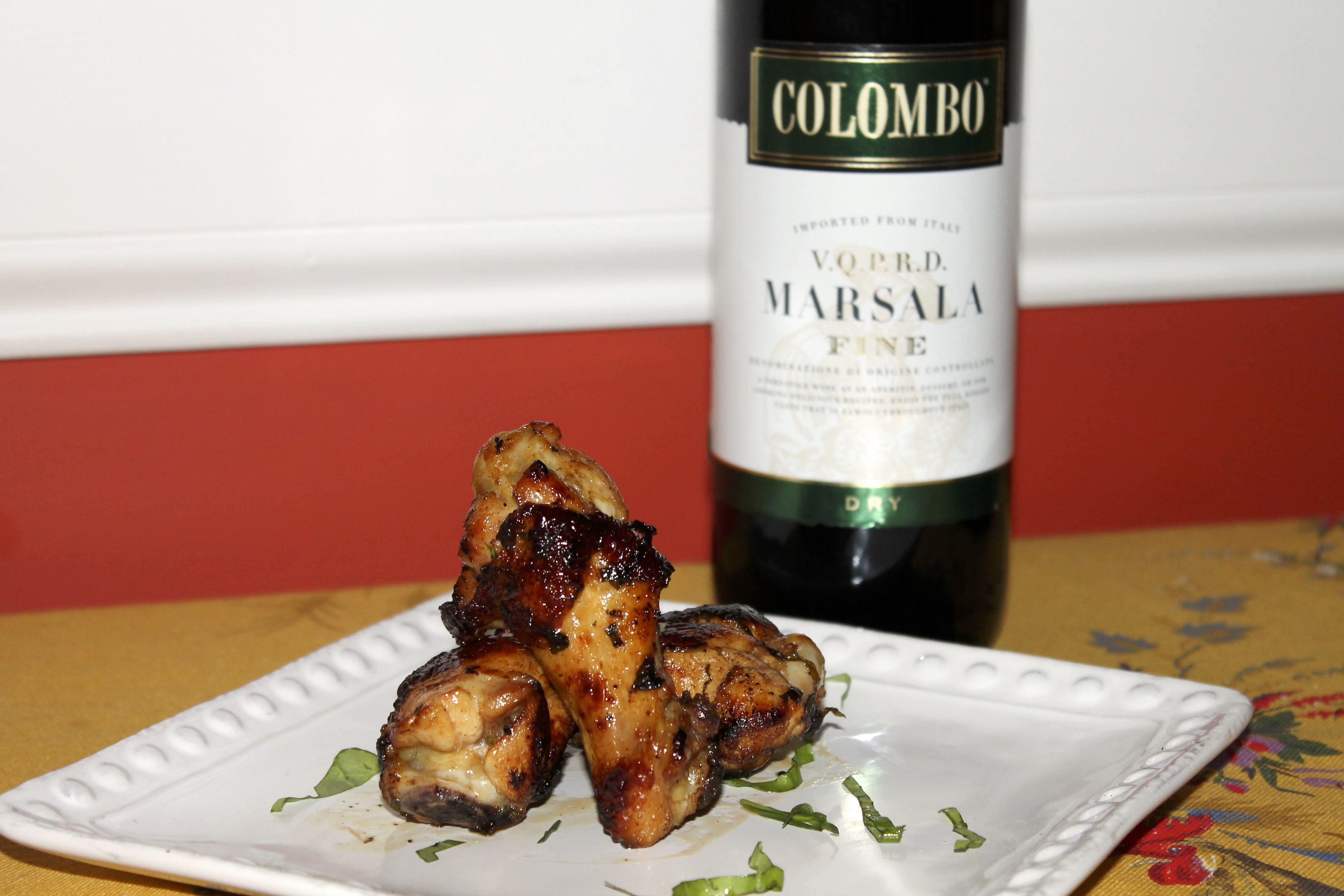 Marsala Recipe Marsala Glazed Chicken Wings Colombo Marsala Wine Glazed Chicken Wings Marsala Recipe Glazed Chicken