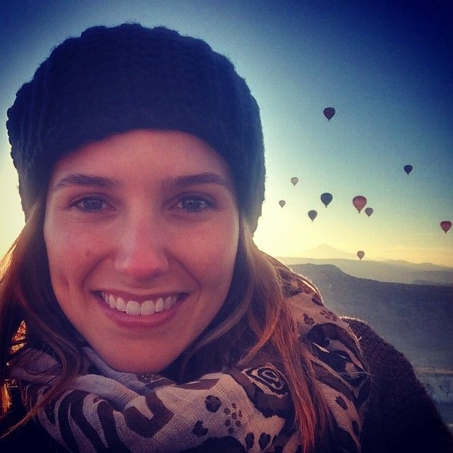 Sunrise over Cappadocia. Magical. #Turkey