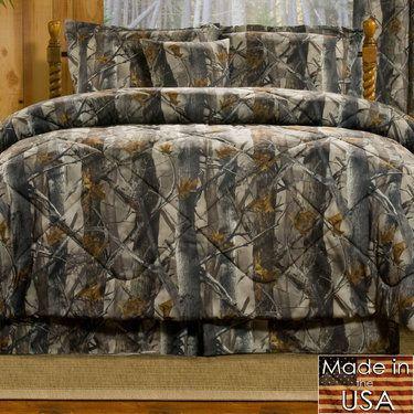 True Timber Xd3 Rustic Camo Mini Comforter Set Bedding Comforter