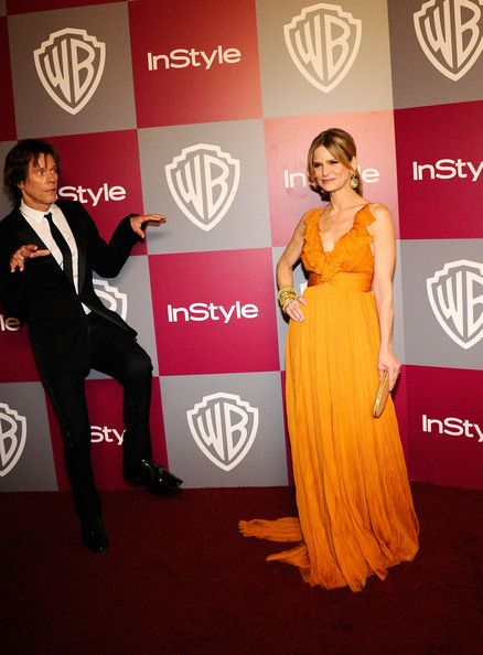 Kyra Sedgwick Photos Photos - Actors Kevin Bacon (L) and Kyra Sedgwick arrive at the 2011 InStyle And Warner Bros. 68th Annual Golden Globe Awards post-party held at The Beverly Hilton hotel on January 16, 2011 in Beverly Hills, California. - 2011 InStyle/Warner Brothers Golden Globes Party - Arrivals