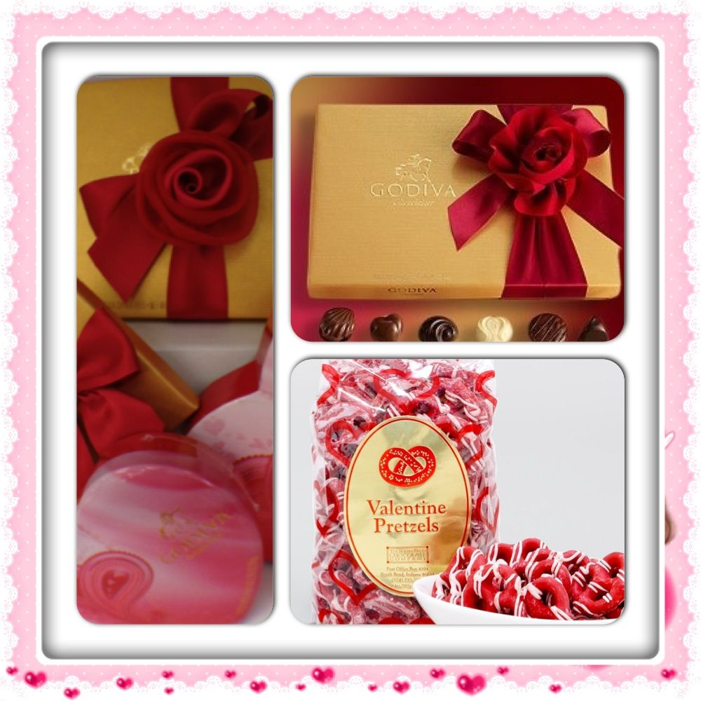 Quips N Quotes Assortment Of Godiva Chocolates And Pretzels Available  Quips 'n