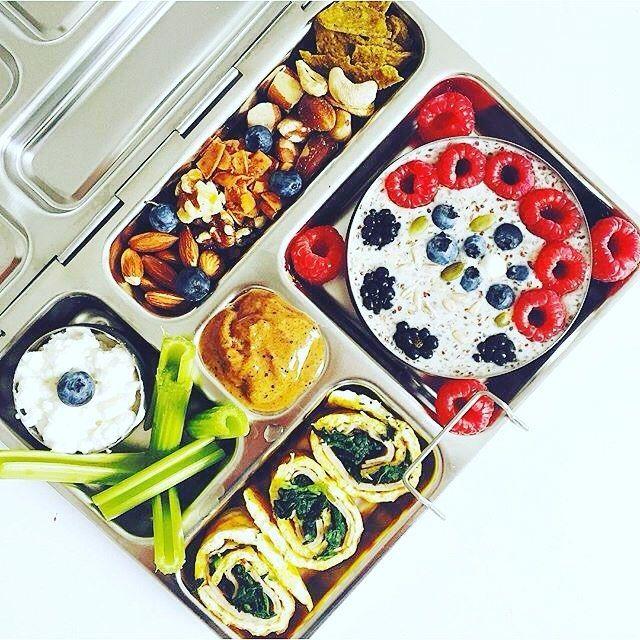 Finally got my @planetbox lunch box y'all and I'm already obsessed with it like nooooo other!!:heart_eyes: Such a convenient gadge…   Food. Kids ...