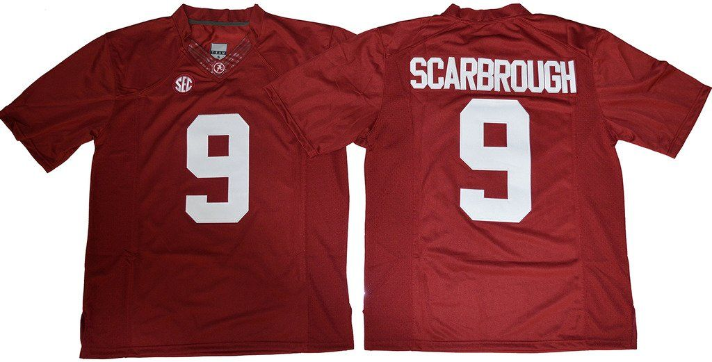 buy popular 94f77 1f2b9 Bo Scarbrough No.9 Mens 2016-2017 College Football Jersey ...