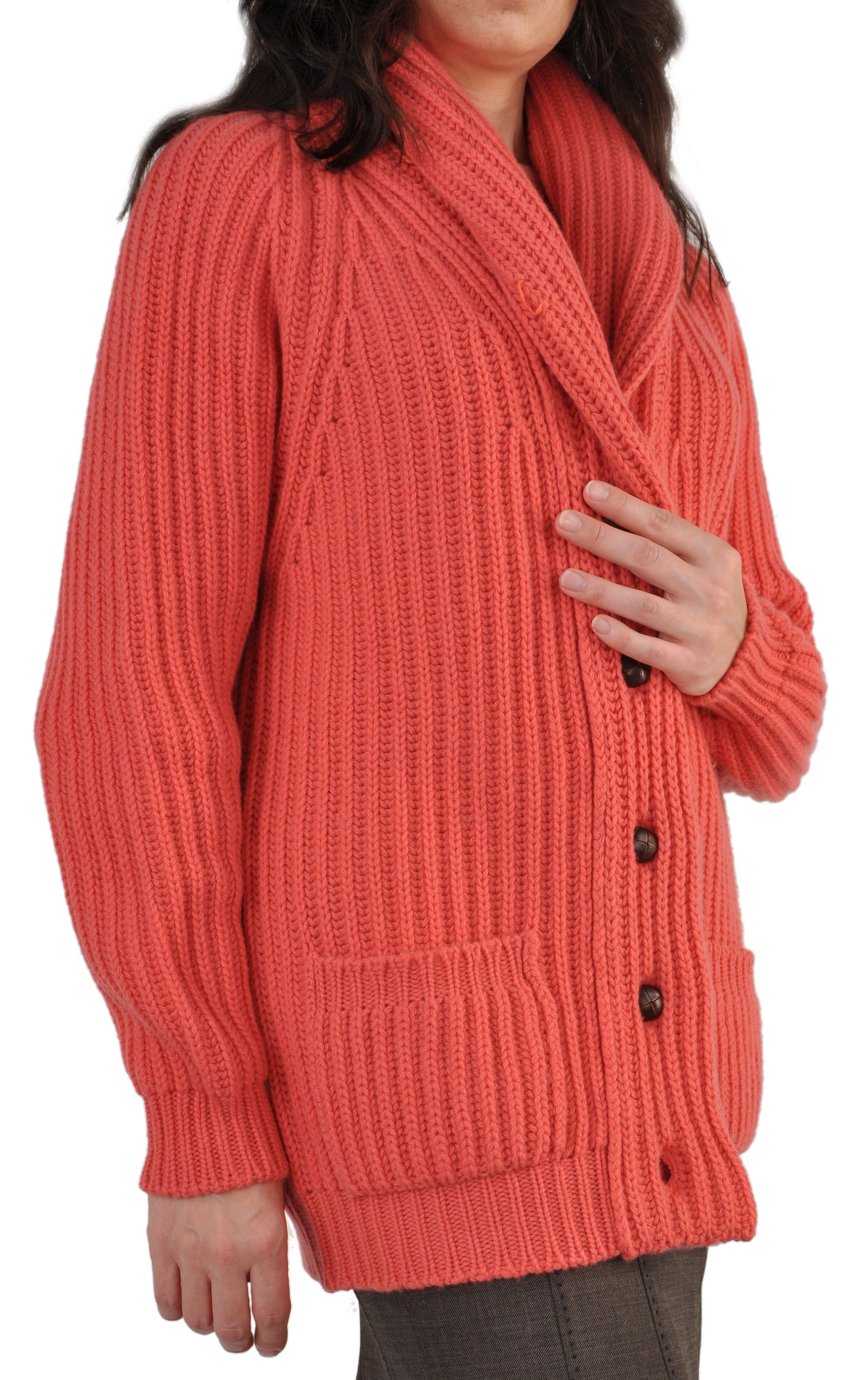 Custom Made Women's 12-Ply Cashmere Cardigan Sweater