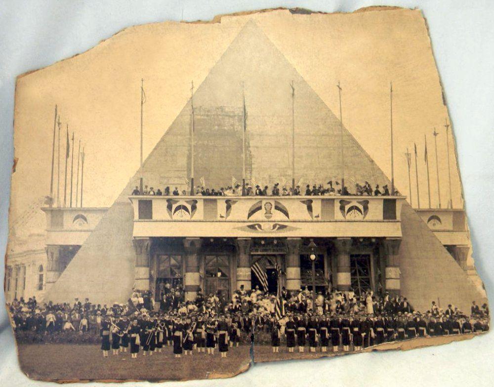 """Résultat de recherche d'images pour """"pyramide de memphis tn 1890"""""""