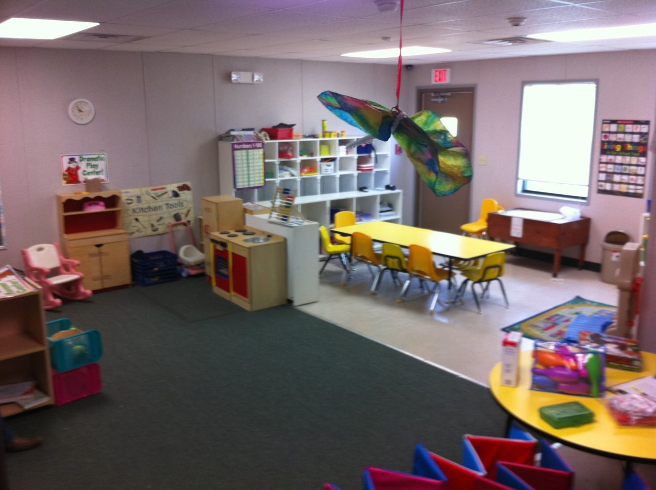 New and used modular daycare buildings can be furnished
