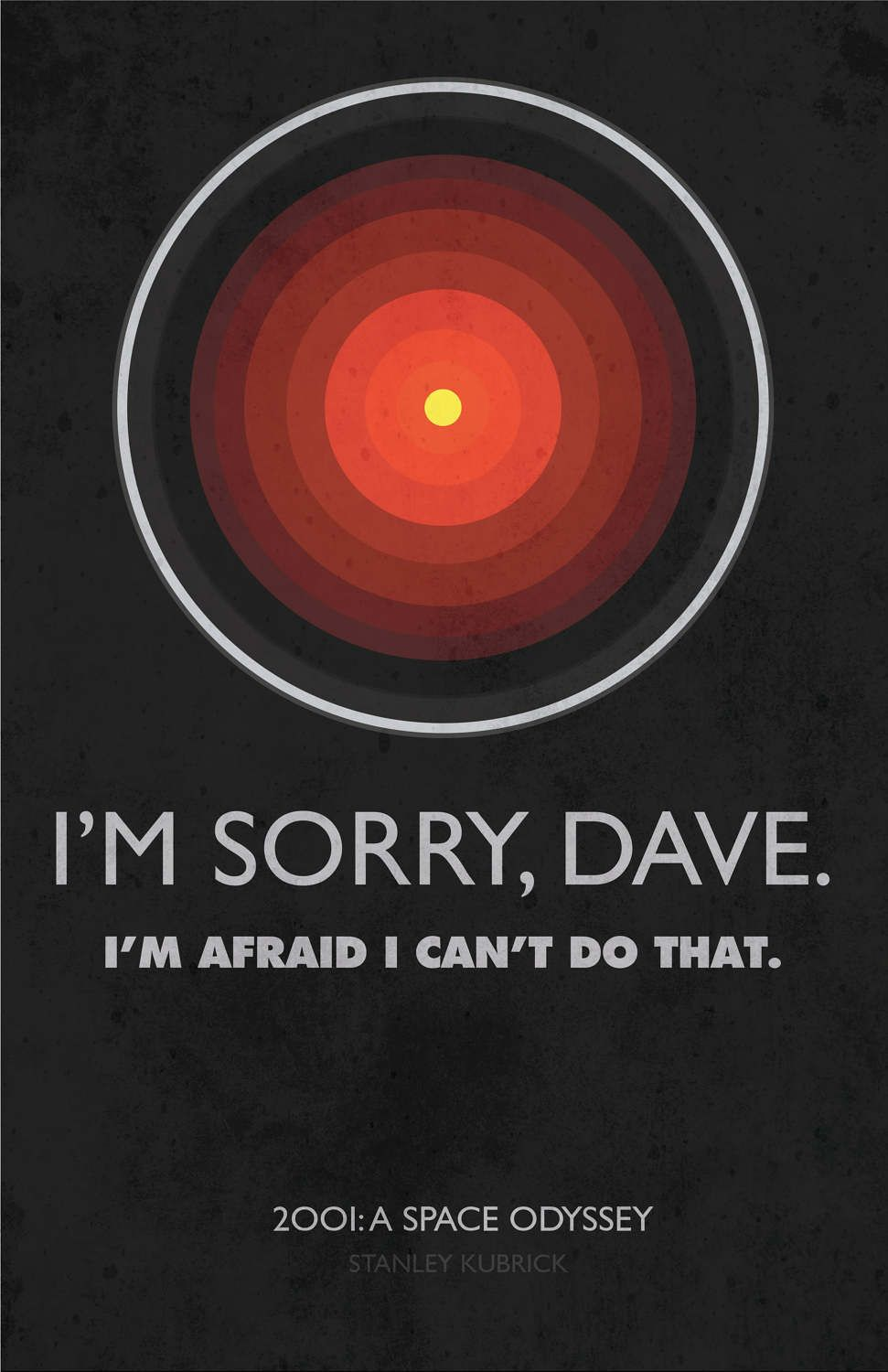 2001 a space odyssey 1968 movie quote poster by ultima prints amusementphile