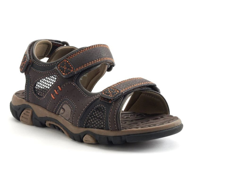 a1a512ed180 SONOMA Boys Sandals Eagle Brown Kids size 2 3 NEW https   www.