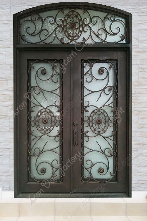 Main Features Air Tight Seal Around Door Frame And Glass Panel 2 Thick By 6 Wide Door Panel For Greater Insu Door Frame Wrought Iron Doors Iron Doors