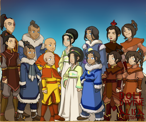 Avatar All Grown Up