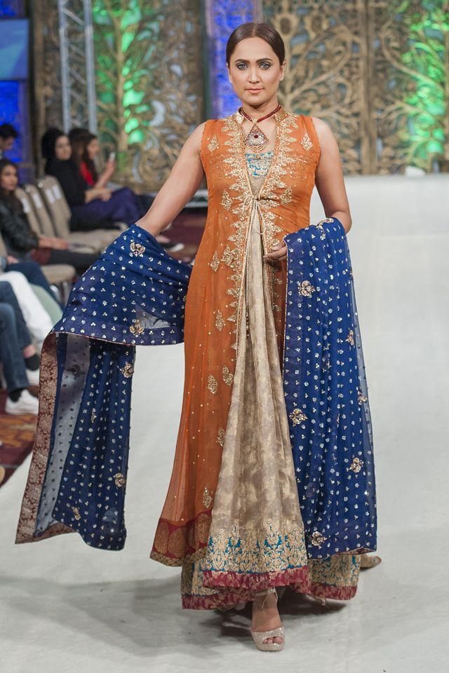 Complete Collection Rania Emaan Formal Collection At Pfwl 14 Designer Summer Dresses Fashion Designer Dresses