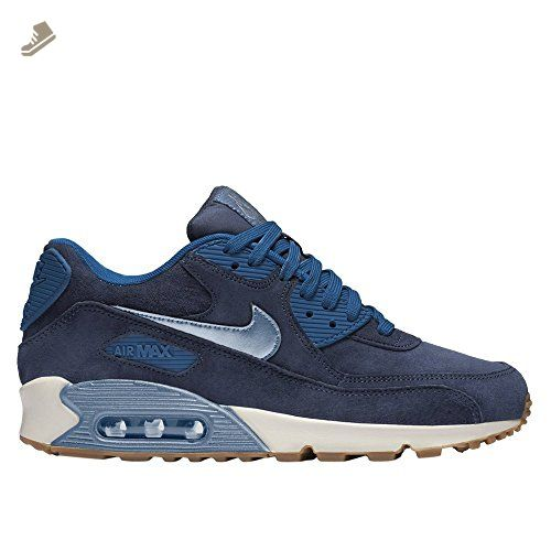 81f93279e1e74 Nike Air Max 90 PRM Suede Womens Running Trainers 818598 Sneakers ...