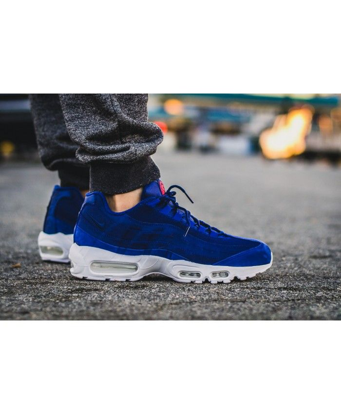 premium selection fd71d 42278 Cheap Nike Air Max 95 Stussy Loyal Blue Very stylish and very unique  design, put on after the very light, very breathable performance!