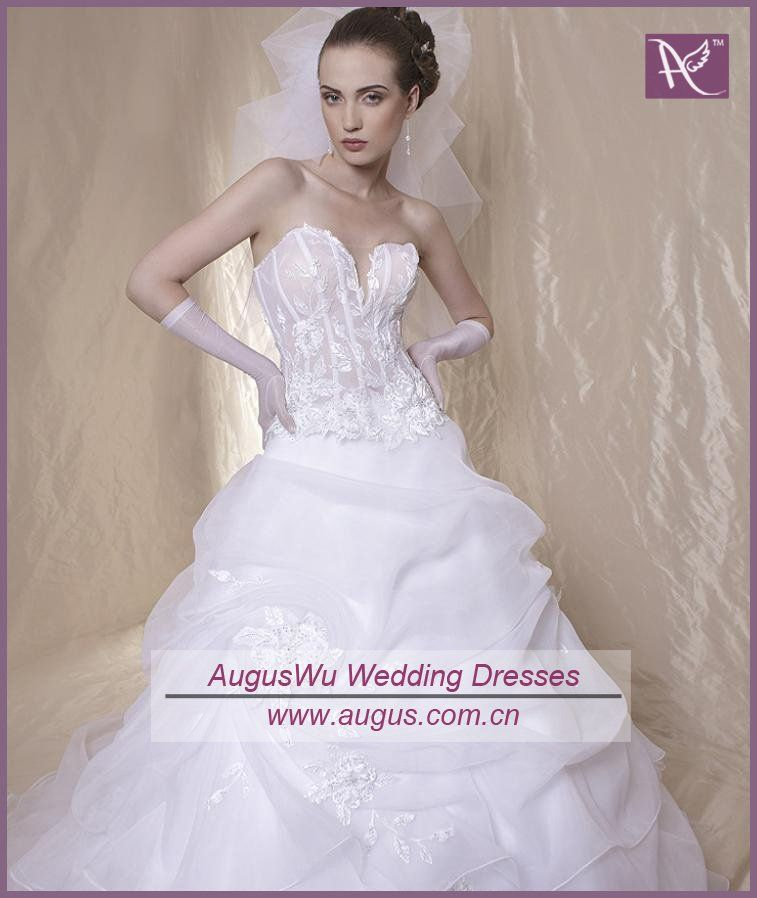 corset wedding dresses see through corset wedding dress picture more detailed picture about
