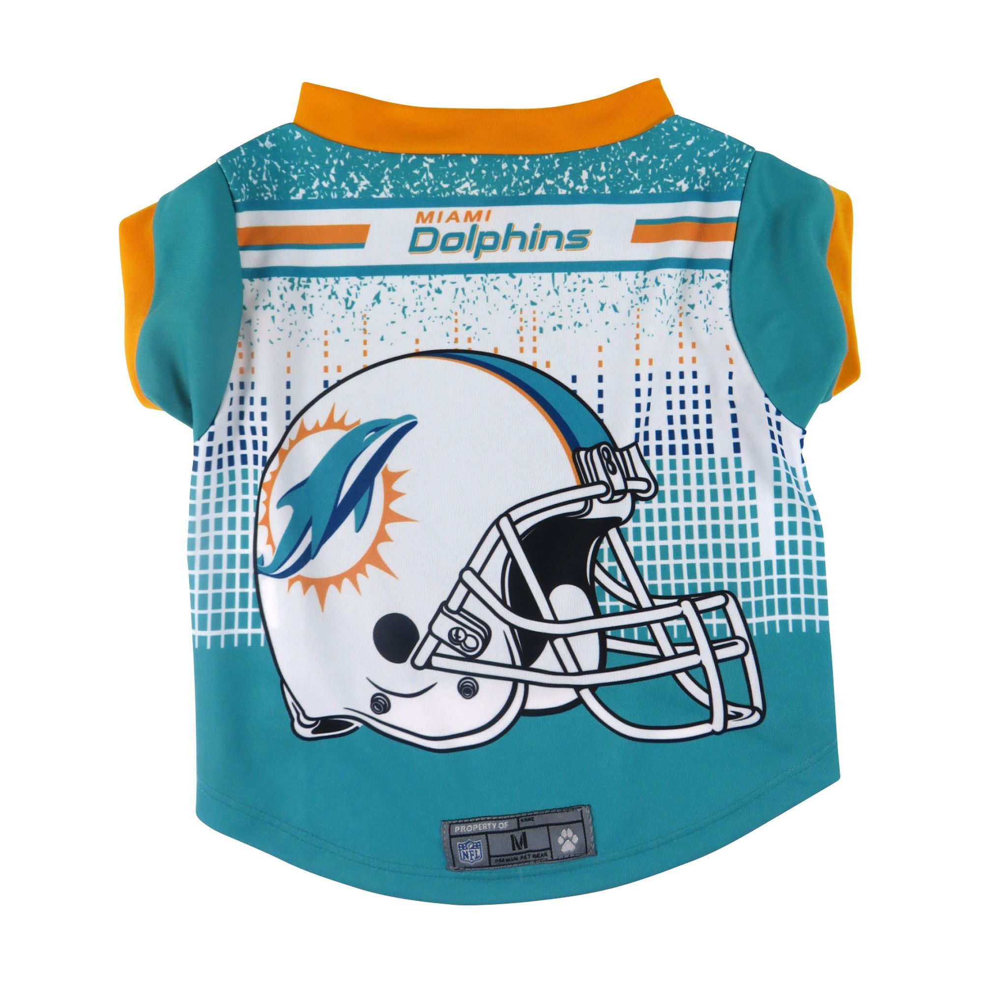 Miami Dolphins Pet Performance Tee Shirt Size XL  13f0696eb
