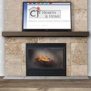 60 Inch Steel Mantel Shelf In Matte Black Mantel Shelf Fireplace Mantel Shelf Fireplace