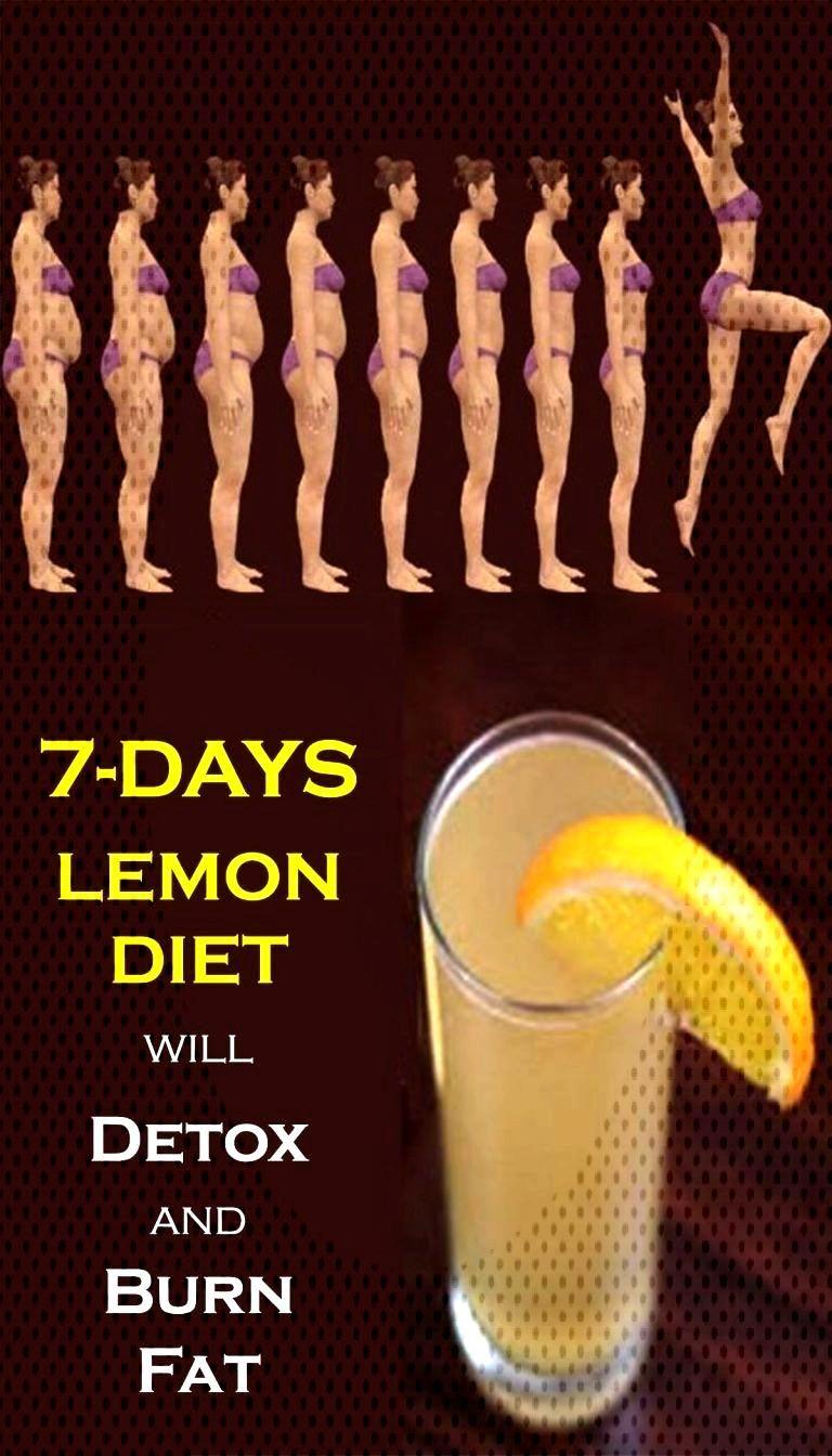 A New 7-Days Lemon Diet Will Detox and Burn Fat – Womenz Fitness