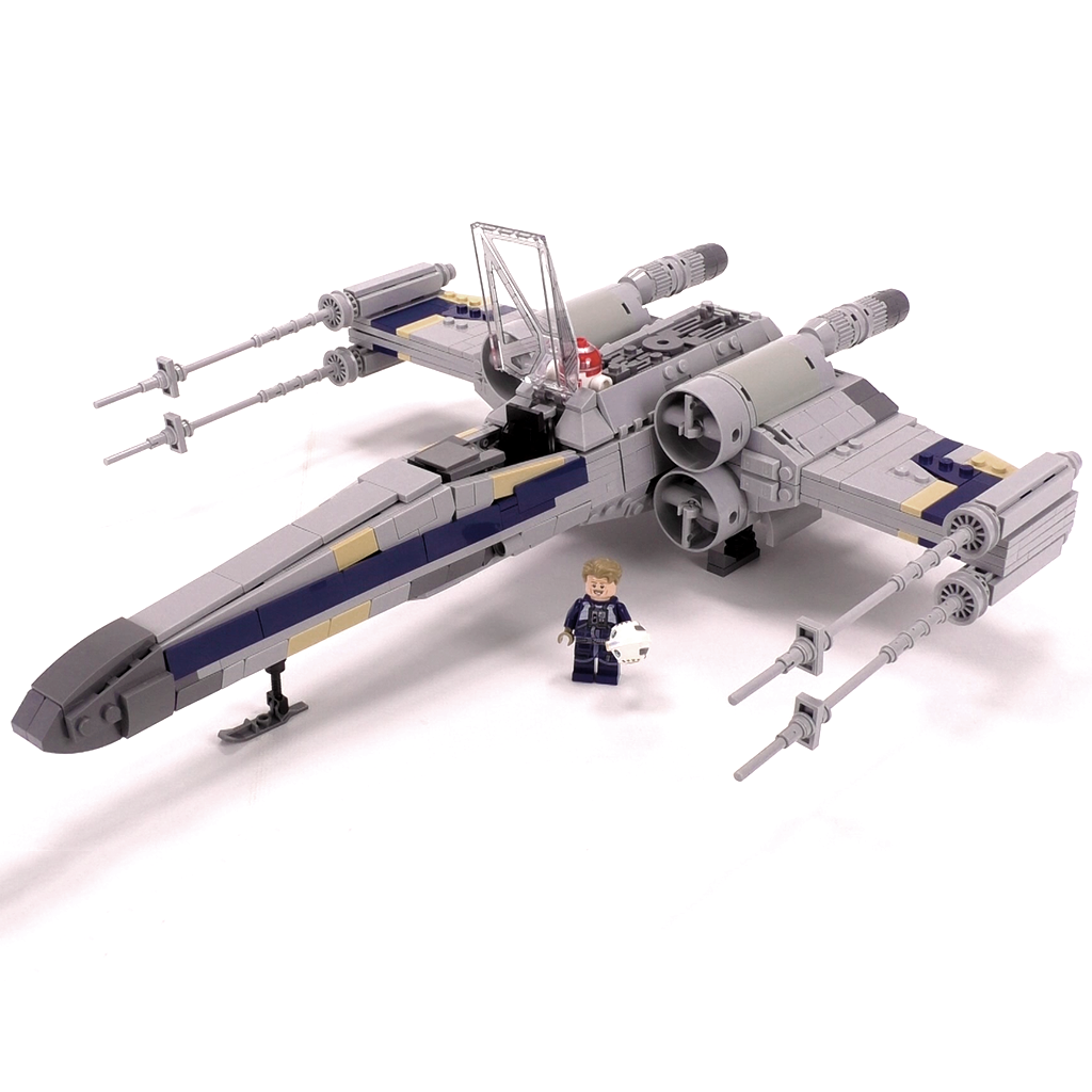 X Wing Starfighter Minifig Scale Starfighter X Wing Starfighter Lego Army
