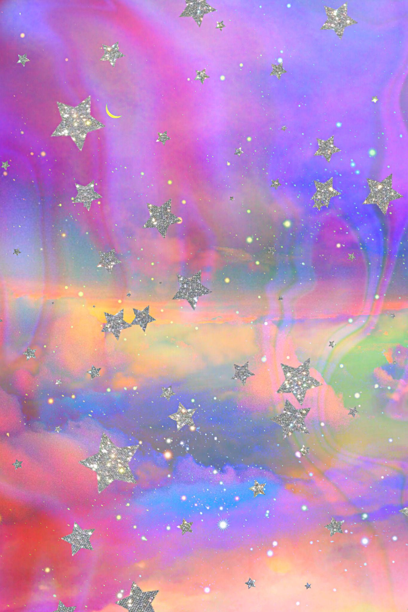 Marble Night Wallpaper Glitter Sparkle Galaxy Sky Stars Holographic Cosmos Rainbow Pastel Holographic Wallpapers Glitter Phone Wallpaper Star Wallpaper
