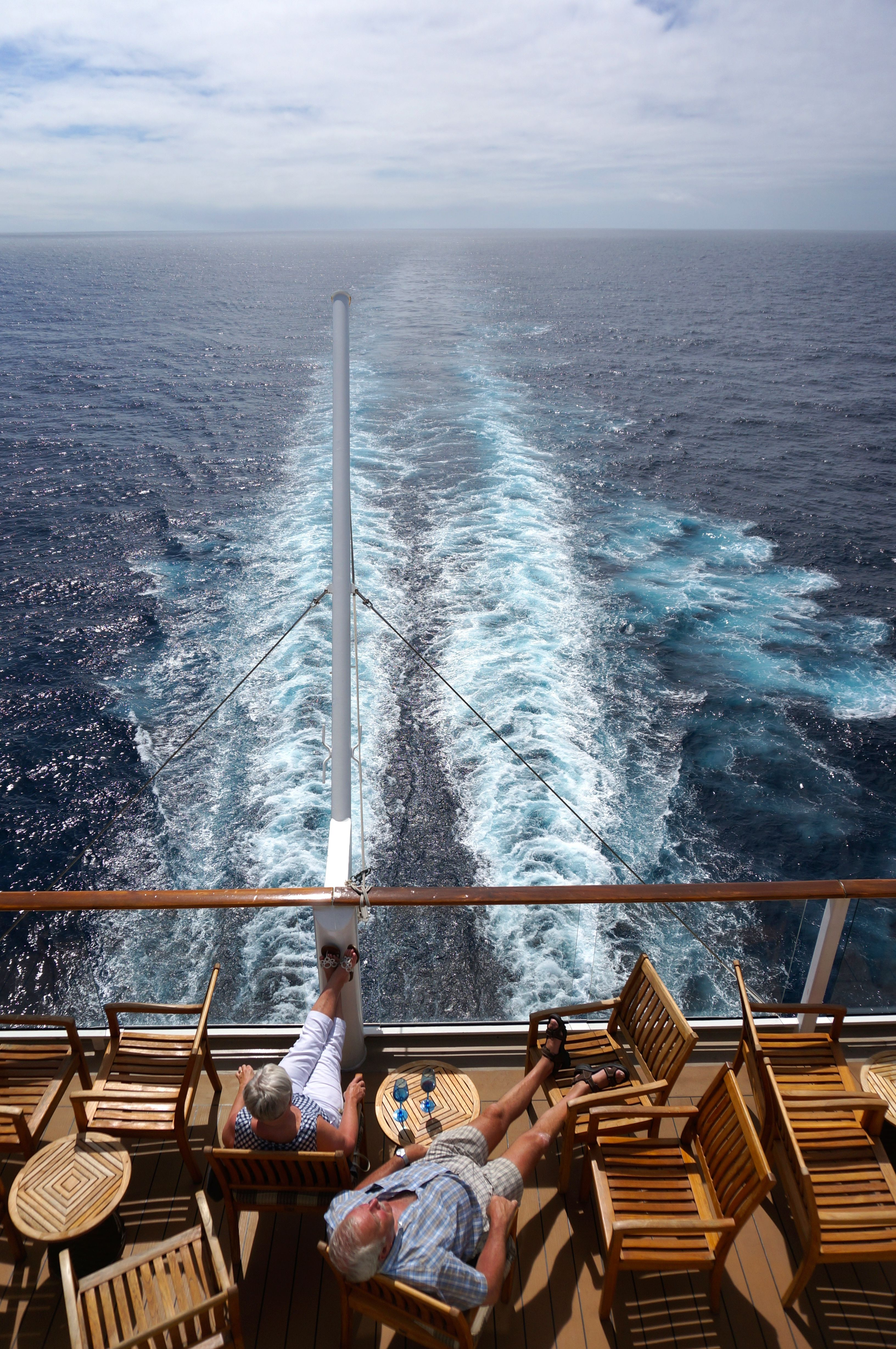 Cruise Hack Find A Quiet Spot In The Aft Of The Ship To Enjoy - Ship relocation cruises