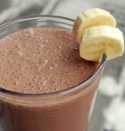 mmmmm... Delicious breakfast smoothie!