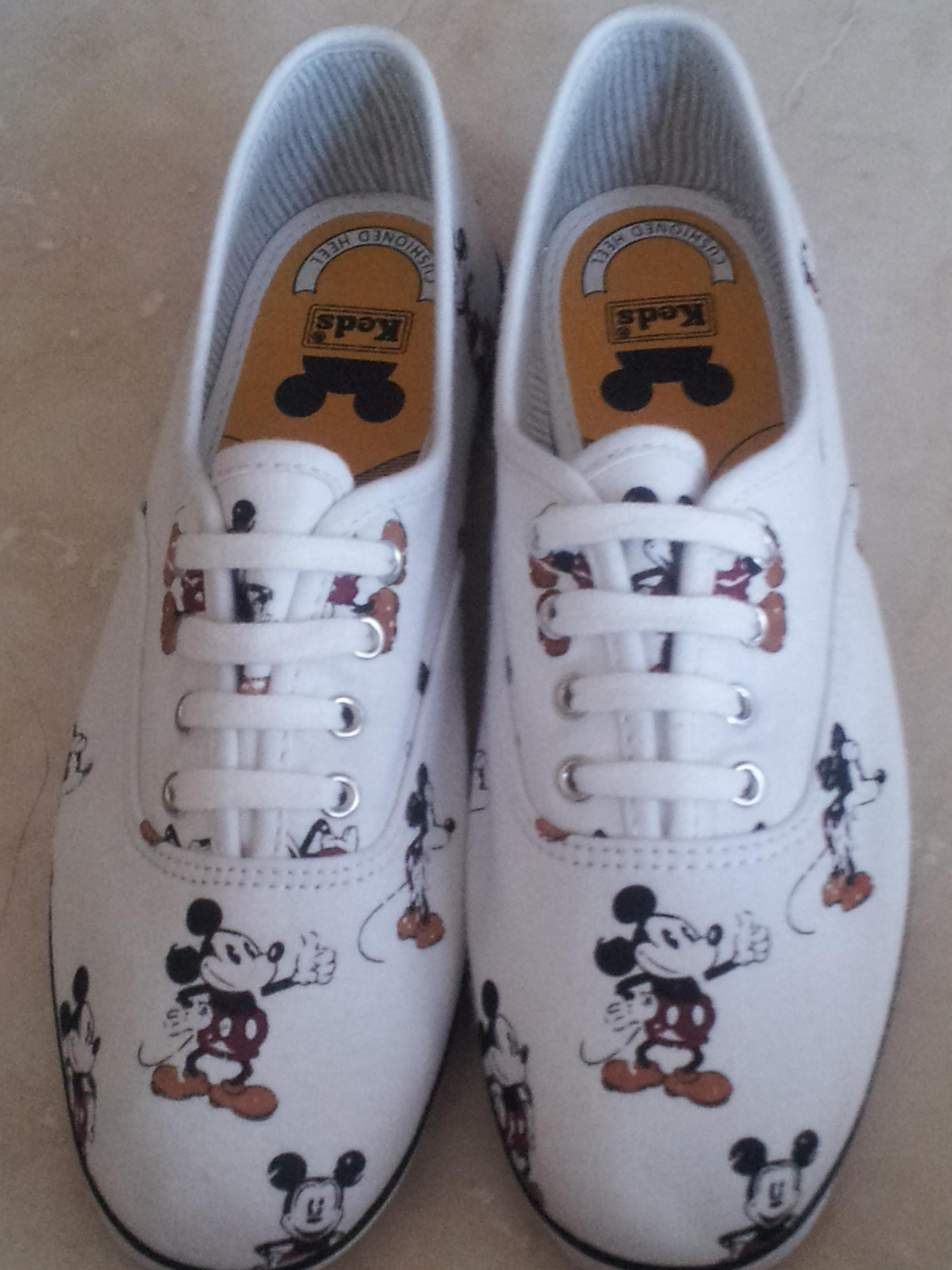 Mickey mouse keds. These would complete