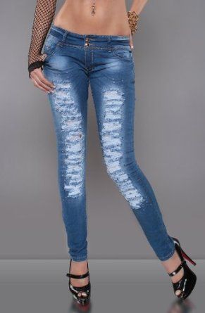 Destroyed skinny jeans uk
